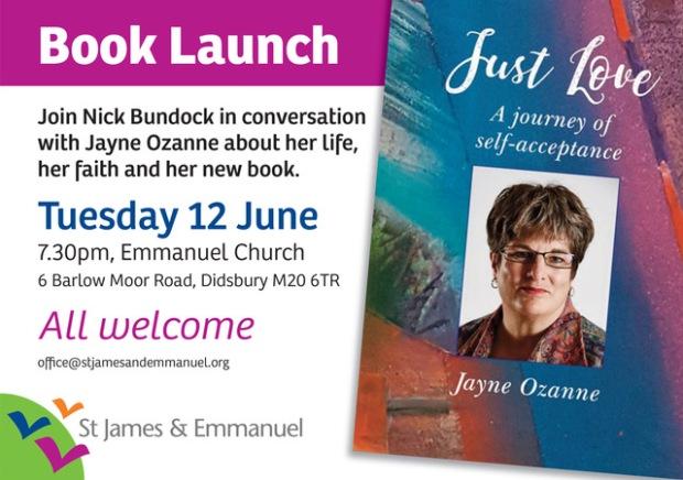 SJE.Jayne Ozanne book launch - landscape_SJE. Jayne Ozanne Just Love book launch landscape