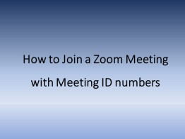 Meeting ID